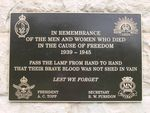 Essendon War Memorial : 20-January-2012